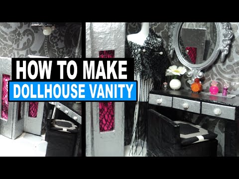 How to Make a Doll Vanity