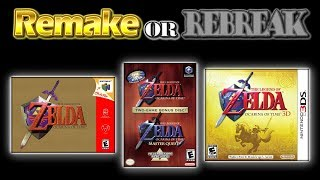ROR The Legend of Zelda Ocarina of Time (N64 Vs. GCN Vs. 3DS)