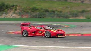 Ferrari FXX K | INSANE V12 EXHAUST SOUNDS! | Corse Clienti 2017 - Spa Francorchamps