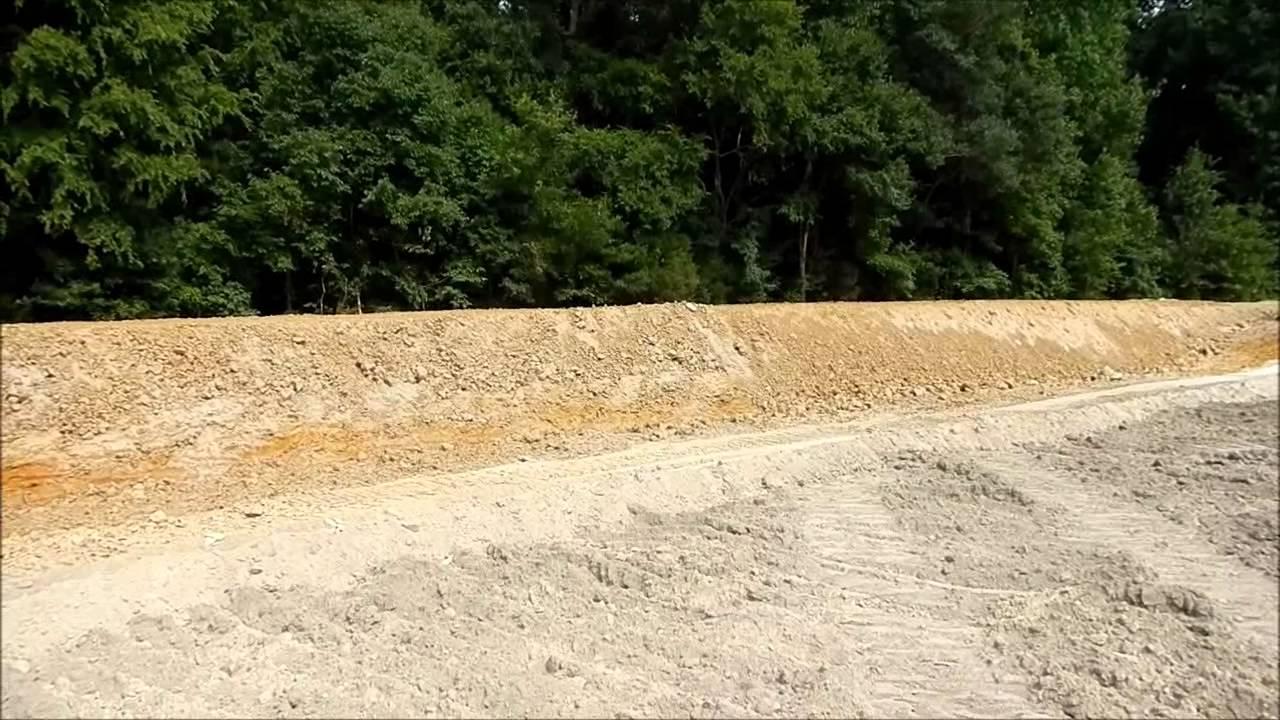 2 Acre Pond Construction : Building a half acre pond youtube