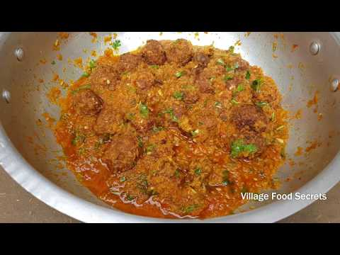 Lauki Kofta Recipe | Kaddu Kofta Curry Recipe | Bottle Gourd Kofta Curry | Village Food Secrets