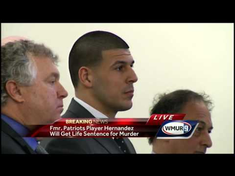 Raw video: Aaron Hernandez receives life sentence without possibility of parole