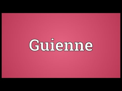 Header of Guienne