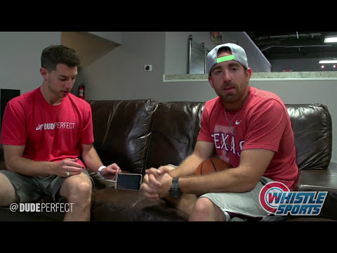 Dude Perfect Office Trick Shots   Behind The Scenes
