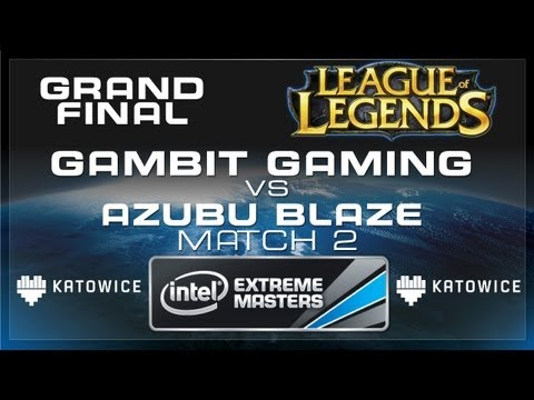 Azubu Blaze vs Gambit Gaming - Match 2 - Grand Final - IEM Katowice League of Legends [Full HD]