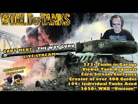 World of Tanks Live Stream [WoT Guru] [278 Tanks] [English - NA] [Viewer Tank Requests] 11/29/17