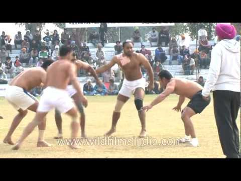 Kabaddi sport superstars in India!