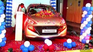 Golden Hyundai Santro Launch Video October 2018-6