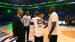 Dell Curry recruited Ray Allen, Glen Rice and Mark Price to help raise $35K | 3 Point Contest