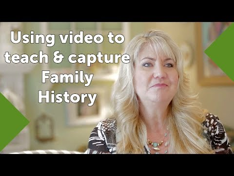Using video to teach and capture family history with Lisa Louise Cooke owner Genealogy Gems