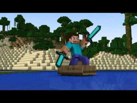 ♪ diamond Sword Minecraft Animation (music Video) video