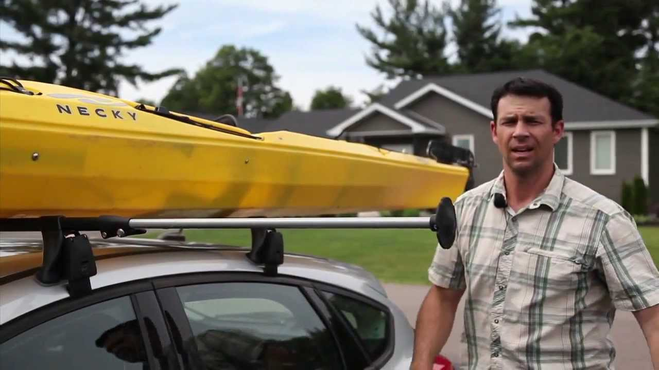 The best way to transport kayaks youtube for Fishing license for disabled person