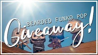 Bearded Funko Pop GIVEAWAY - Win one of Four bearded heroes!