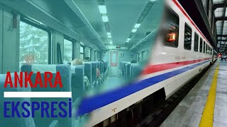 Train Journey From Ankara to Istanbul by Ankara Express