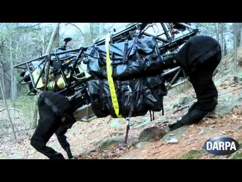 DARPA Legged Squad Support System (LS3)