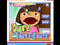 Dora The Explorer Online Games - Cure Dora's Mouth Dentist Game