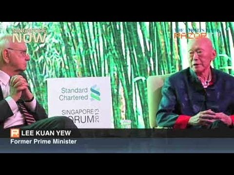 Lee Kuan Yew on India-China relations