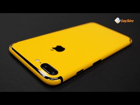 iPhone 7 PLUS - Golden Yellow Skin by EasySkinz