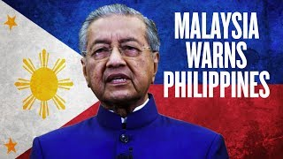 Malaysia Warns Philippines Over China Debt | Mahathir Mohamad Warns Duterte about CCP Loans