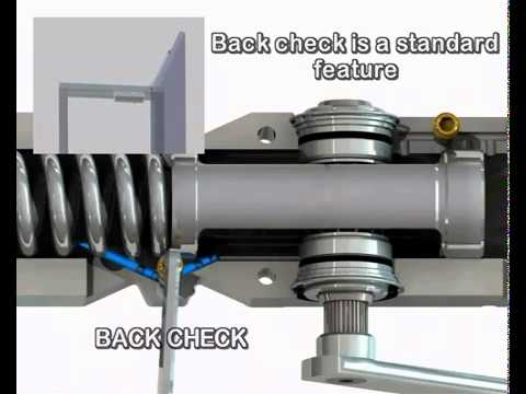Abloy Door Closer Dc335 Mp4 Youtube