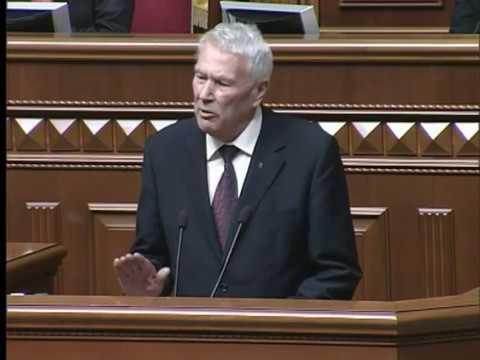 Виступ Олександра Шевченка на сесії ВРУ 18.04.2013