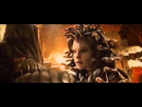 Fight scene of Medusa