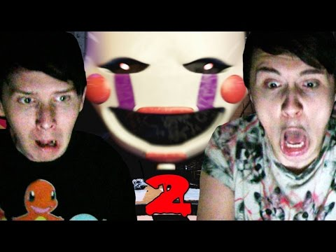 YAY JUMPSCARES! - Dan and Phil play: Five Nights At Freddy's 2