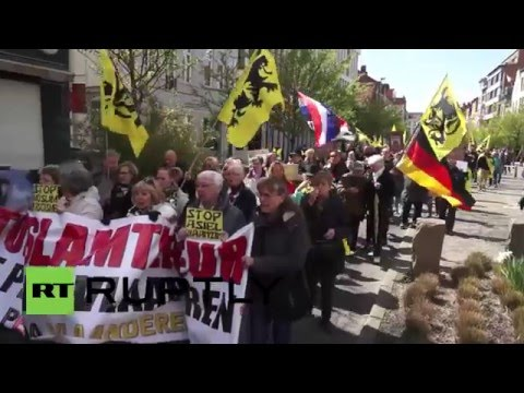 Belgium: PEGIDA supporters clash with police in Antwerp