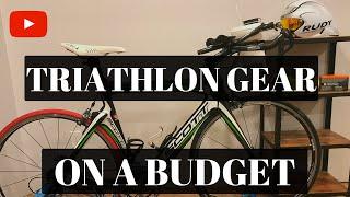 Triathlon Kit Basics (On a Budget!)