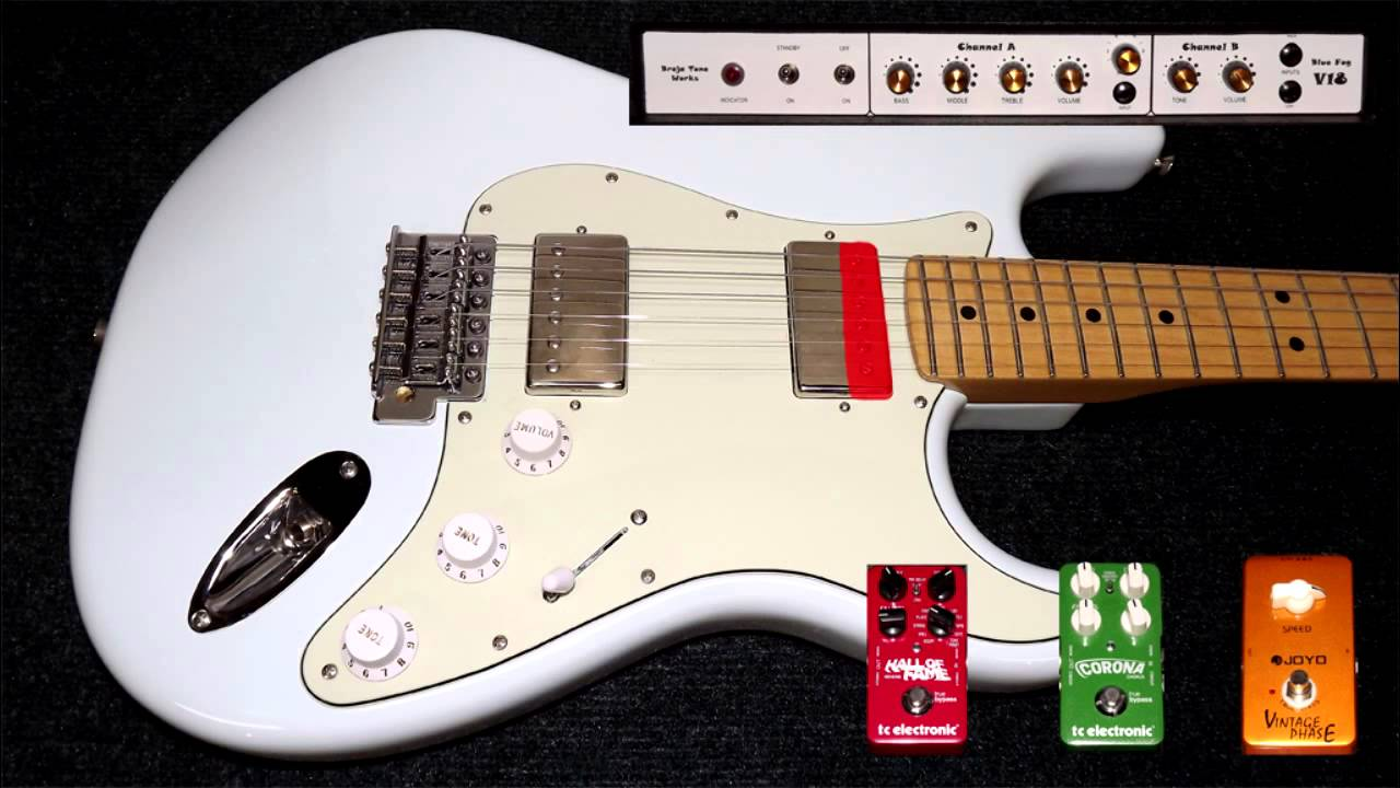 Fender Blacktop Stratocaster - Demo