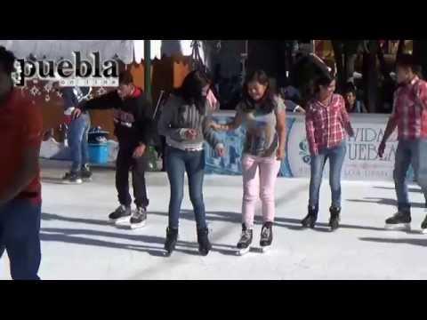 Puebla cuenta con 2 pistas de hielo para esta época de Navidad