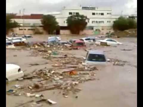 Jeddah Flood-Unbelievable أمطار سيول جدة التوقعات لا تصدق