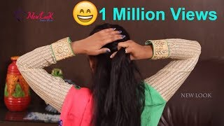 Top Best Indian Hairstyle for Saree | Hair Style Tips and Tricks | New Look