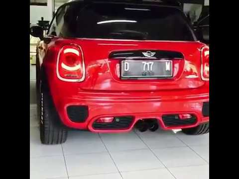 Mini Cooper F56 S | ARMYTRIX Valvetronic Exhaust | Loud Revs Sound Test Review 2017 2018