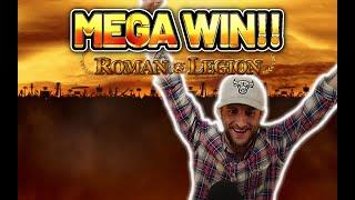 MEGA WIN! ROMAN LEGION BIG WIN - €10 bet on Casino Slot from CASINODADDY