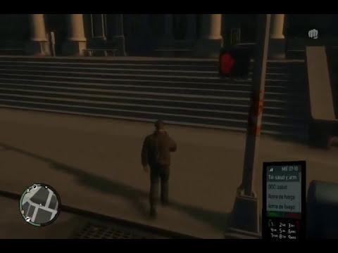 Jugando GTA IV en mi PC