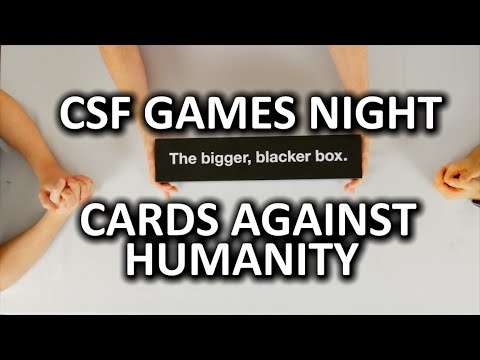 Cards Against Humanity - Super Fun Games Night Episode 1