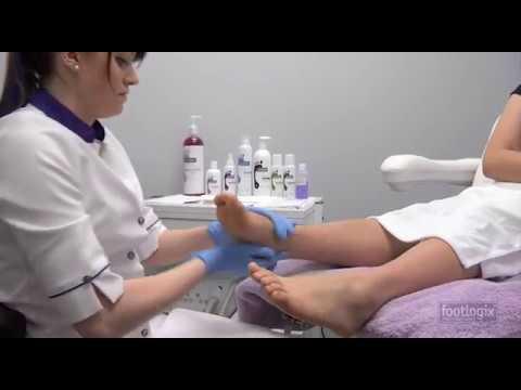 The Footlogix® Professional Pedicure