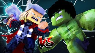 Minecraft: OS VINGADORES #6 - THOR vs HULK!