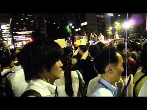 7.1 集団的自衛権閣議決定に、国民の怒りが爆発! その1 沖野玉枝 検索動画 25