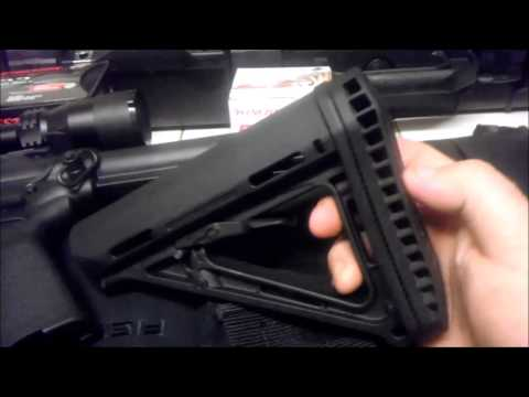 AR15/M16/M4 Adjustable ButtStock Wobble Fix
