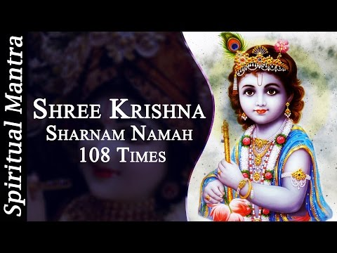Shree Krishna Sharnam Namah - 108 Times By  Sarika Singh ||  Krishna Bhajans ( Full Songs )