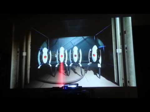 Portal 2 final fight Wheatley PSmove .. plus BONUS