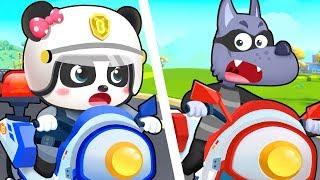 Super Policeman | Doctor Cartoon, Firefighter Song | Nursery Rhymes | Kids Songs | BabyBus