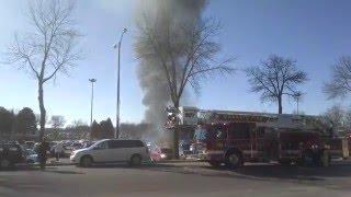 Car Fire at University of Minnesota, Mankato