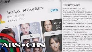 Eksperto nagbabala sa mga gumagamit ng viral na FaceApp   TV Patrol