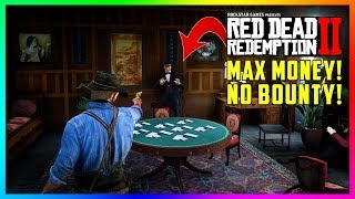 How To Rob This TOP SECRET Poker Room In Red Dead Redemption 2 While Getting NO BOUNTY! (RDR2)