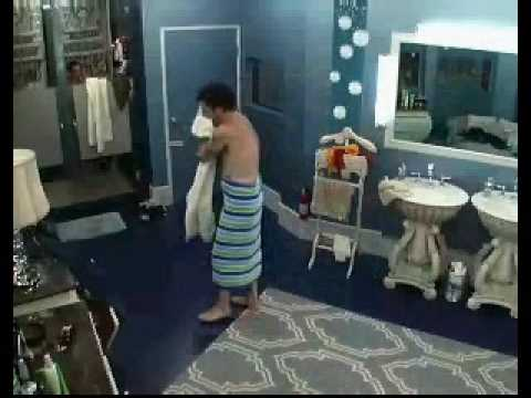 Big Brother 8 USA - Dick Nude. Dick and Eric taking a shower.