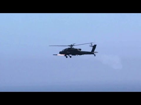 Apaches & Black Hawks Live-fire Exercises