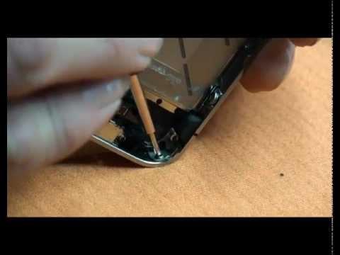 Apple iPhone 4S riparazione sostituzione vetro rotto Parte Prima